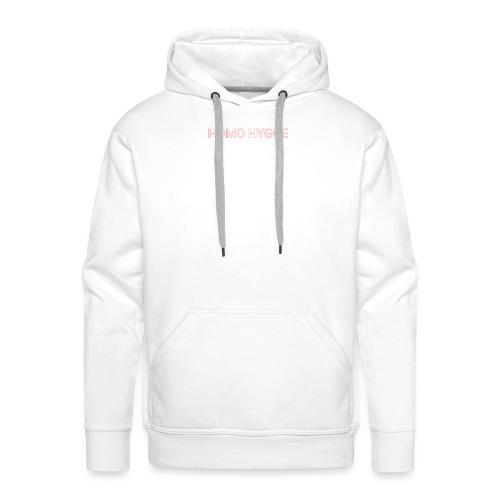 Standard homo hygge logo - Herre Premium hættetrøje
