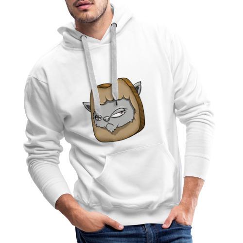 Katze und das Toastbrot - Männer Premium Hoodie