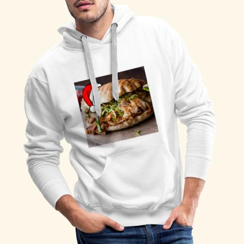 doner kebab - Mannen Premium hoodie
