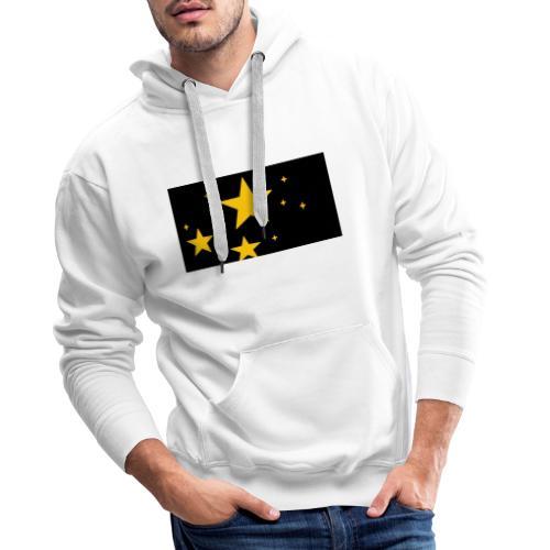 espacio - Sudadera con capucha premium para hombre
