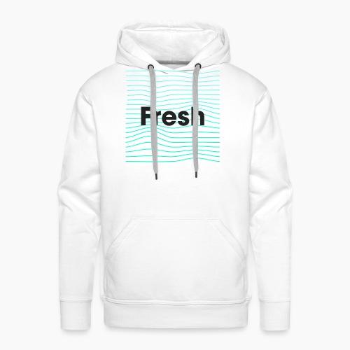 Fresh - noir - Sweat-shirt à capuche Premium pour hommes