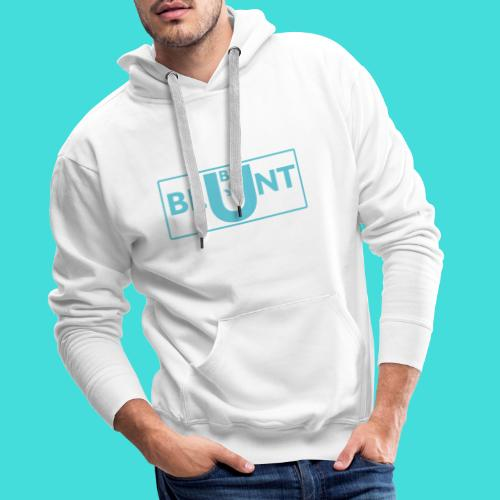 The new BE blunt design - Men's Premium Hoodie