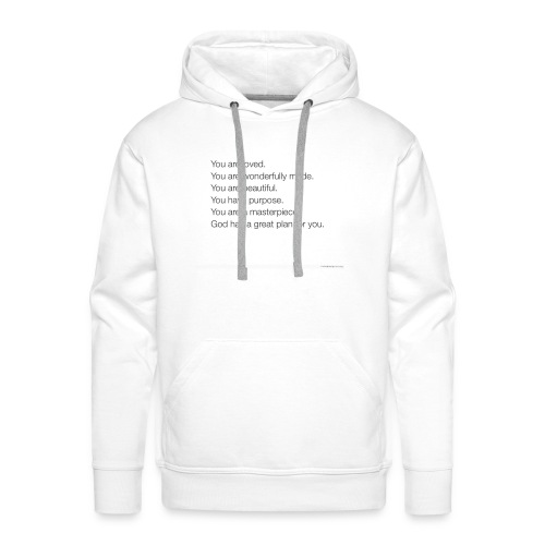 God has a plan for you - Men's Premium Hoodie