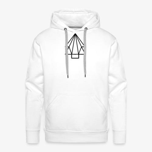 Tree-Logo with Strings - Men's Premium Hoodie
