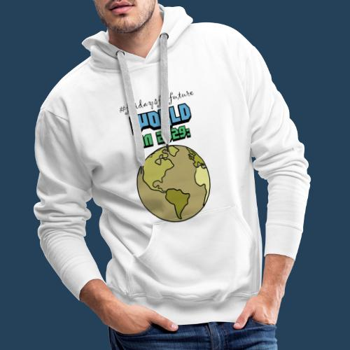 World in 2029 #fridaysforfuture #timetravelcontest - Männer Premium Hoodie