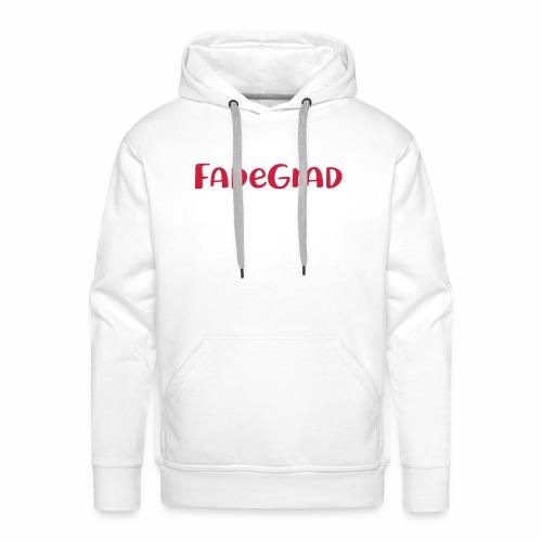 fadegrad - Männer Premium Hoodie