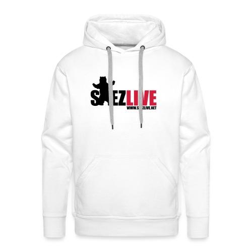 OursLive (version dark) - Sweat-shirt à capuche Premium pour hommes