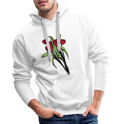 flower V3 - Men's Premium Hoodie