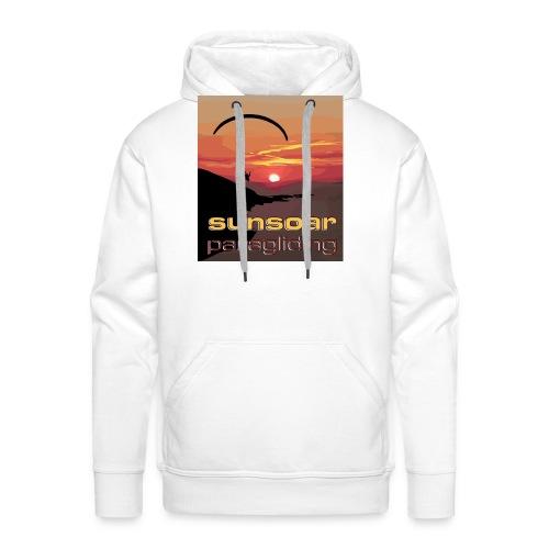 sunset flying - Men's Premium Hoodie