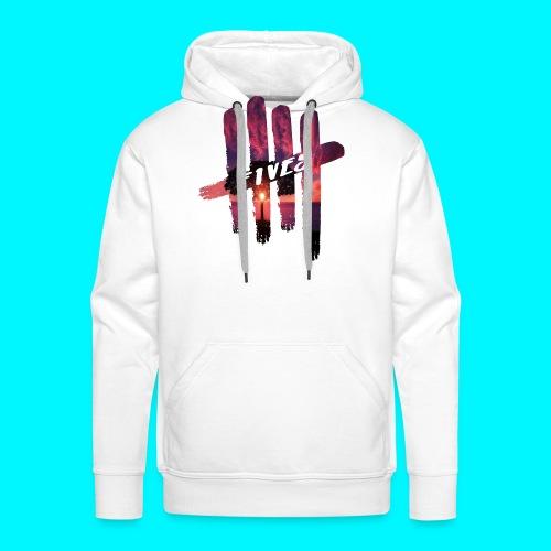 fives tree - Sweat-shirt à capuche Premium pour hommes