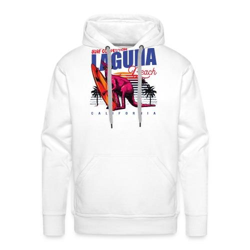 Laguna Beach - Sweat-shirt à capuche Premium pour hommes