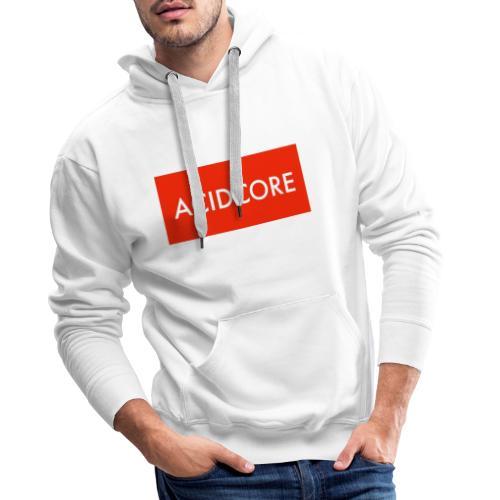 ACIDCORE COLLECTION - Sweat-shirt à capuche Premium pour hommes