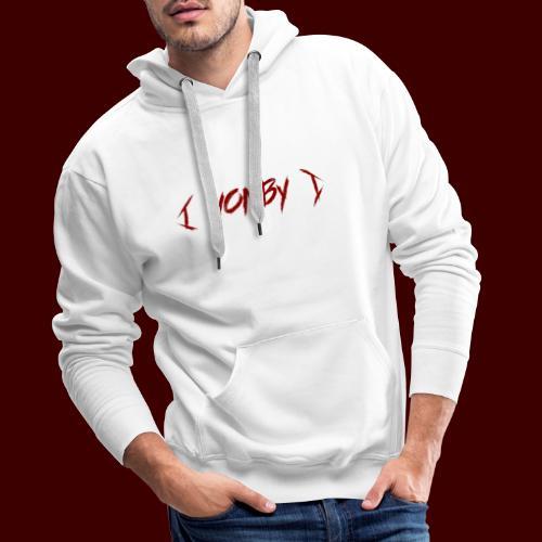 العين Y eyes - Sweat-shirt à capuche Premium pour hommes
