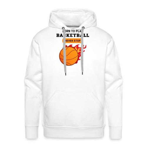 Design 133 - Sweat-shirt à capuche Premium pour hommes