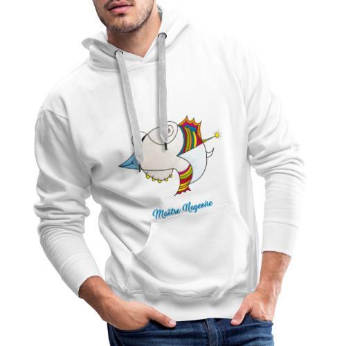 Maître Nageoire - Sweat-shirt à capuche Premium pour hommes