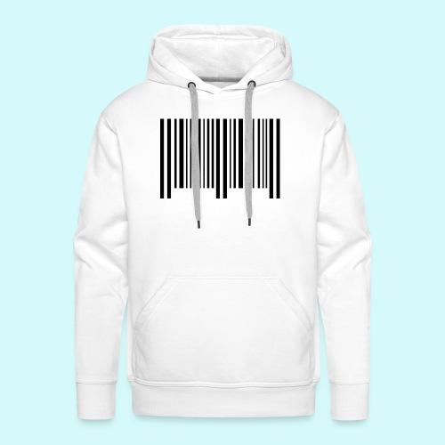 barcode - schwarz - Männer Premium Hoodie