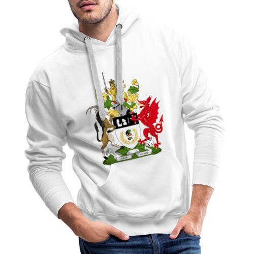 Coat of Arms of Kekistan - Mannen Premium hoodie