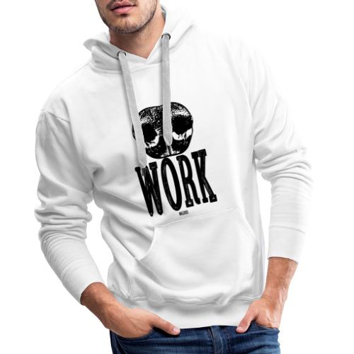 Nose Work Black - Miesten premium-huppari