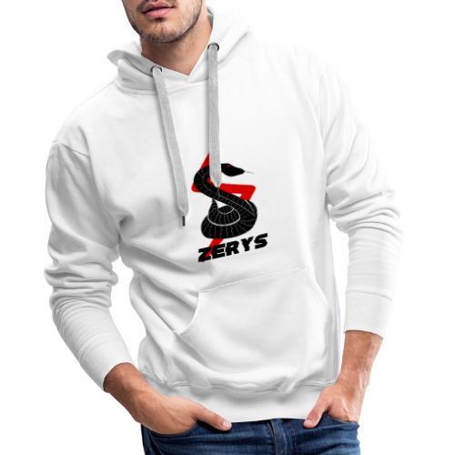 serpent zerys - Sweat-shirt à capuche Premium pour hommes