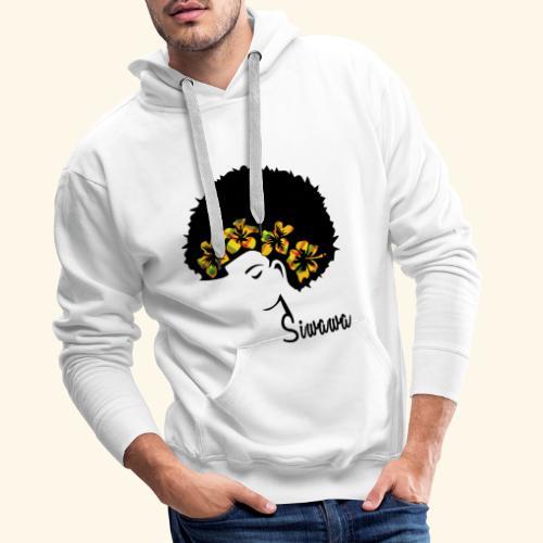 AFRO-MADRAS - Sweat-shirt à capuche Premium pour hommes