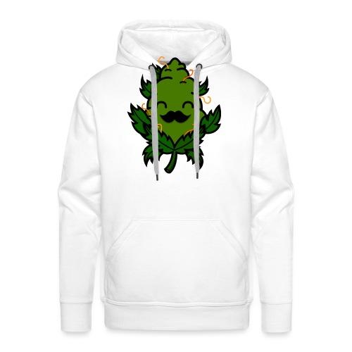 Mr. Weed Nug - Sudadera con capucha premium para hombre
