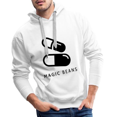 Magic Beans EP Design - Black - Men's Premium Hoodie
