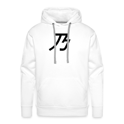 B Logo - Herre Premium hættetrøje