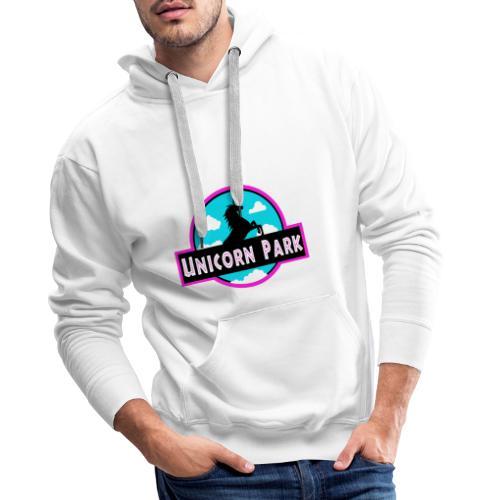UNICORN PARK - Sweat-shirt à capuche Premium pour hommes