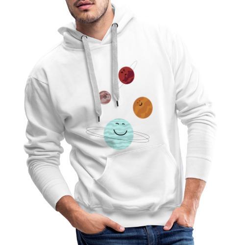 planeten - Mannen Premium hoodie
