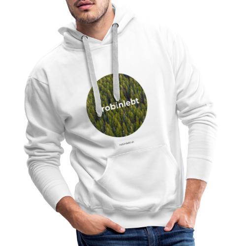 #robinlebt Wald 2 - Männer Premium Hoodie