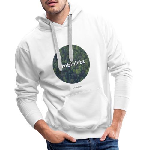 #robinlebt Wald 1 - Männer Premium Hoodie