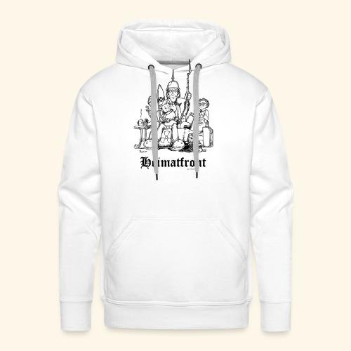 Heimatfront Mama Heimat Waffen Sohn Muttersöhnchen - Männer Premium Hoodie