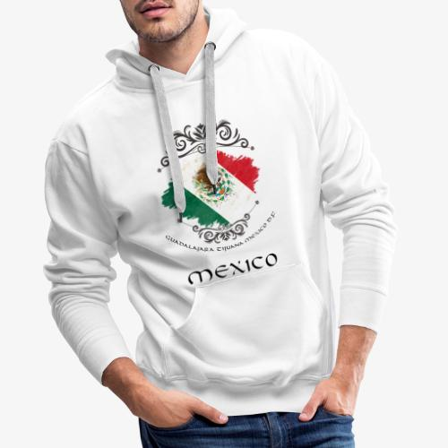 Mexico Vintage Bandera - Männer Premium Hoodie