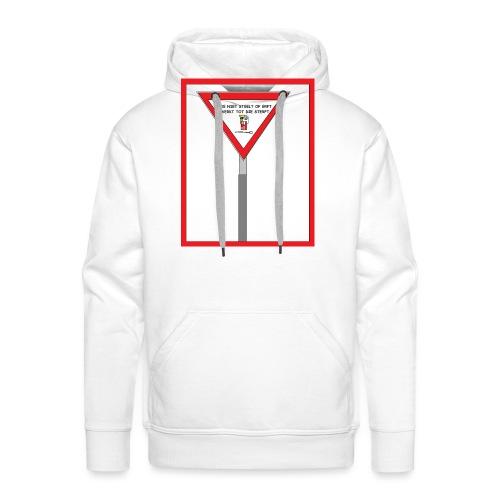WIE NIET STEELT OF ERFT - Mannen Premium hoodie