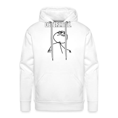 DÉTÉRMINÉ. - Sweat-shirt à capuche Premium pour hommes