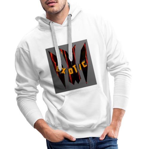Exotic-Logo - Männer Premium Hoodie