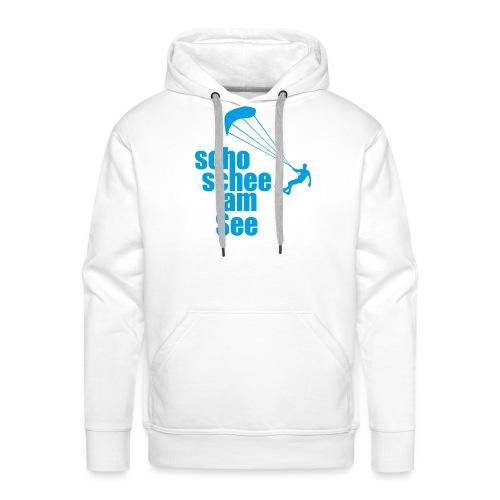 scho schee am See Surfer 01 kite surfer - Männer Premium Hoodie