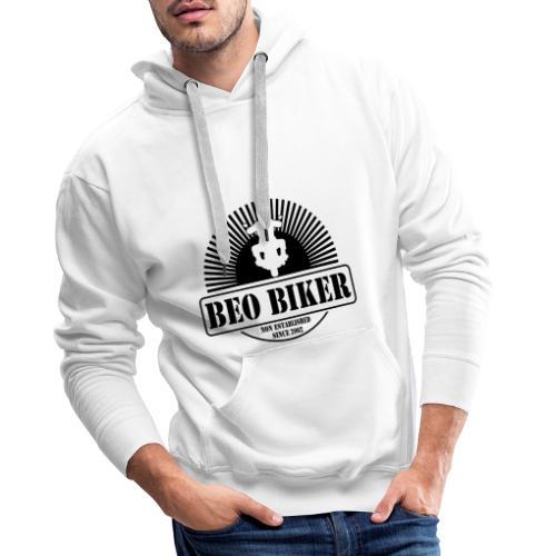 Logo Beo Biker Black - Männer Premium Hoodie
