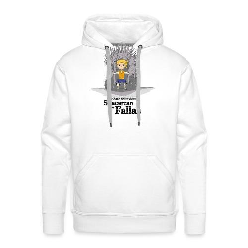 Camiseta hombre: Se acercan las fallas - Sudadera con capucha premium para hombre