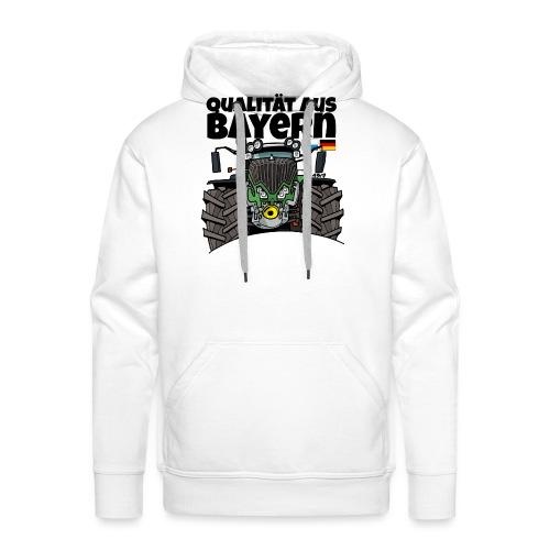 Qualitaet aus Bayern F def - Mannen Premium hoodie