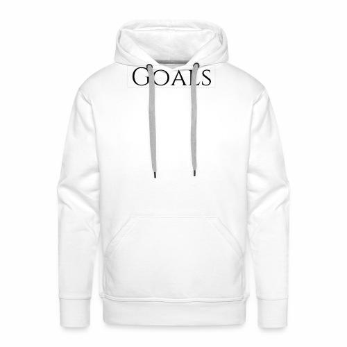 Goals - Männer Premium Hoodie