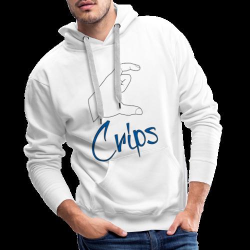 Crips - Sweat-shirt à capuche Premium pour hommes