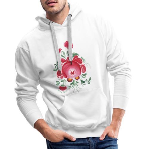 Ostfriesische Rose - Männer Premium Hoodie