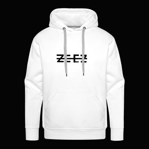 zeez poilu noir - Sweat-shirt à capuche Premium pour hommes