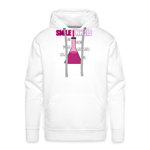 SMILE NHC10 - Sweat-shirt à capuche Premium pour hommes