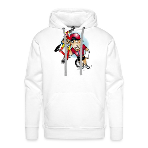BoarderMax Bike Crash - Männer Premium Hoodie