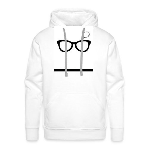 Thoughtful Glasses - Men's Premium Hoodie