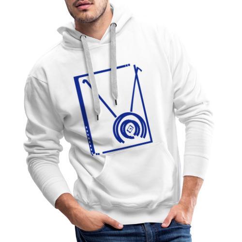 Diabolo - Sweat-shirt à capuche Premium pour hommes