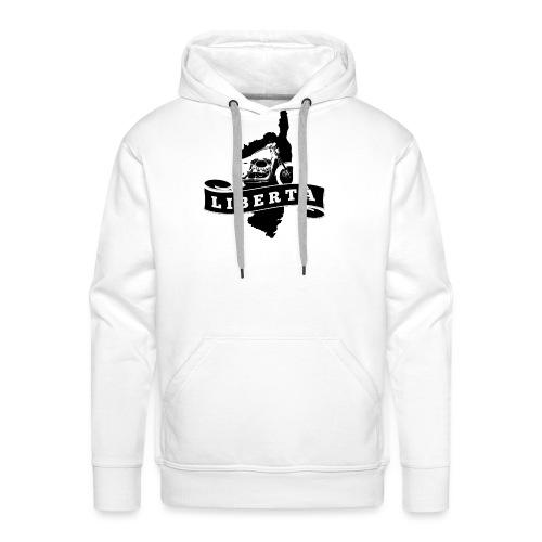 Liberta - Sweat-shirt à capuche Premium pour hommes