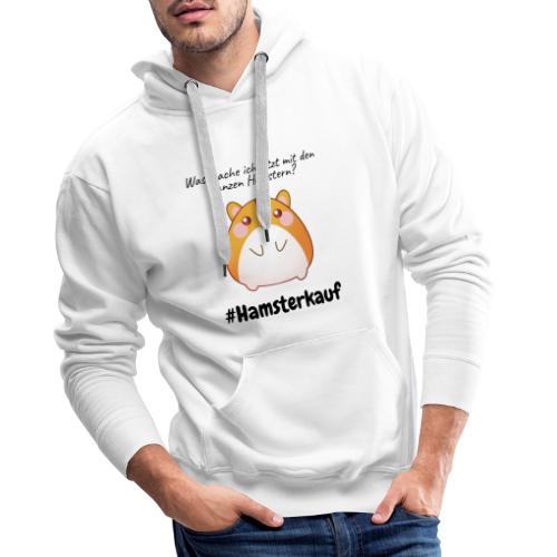 Ganze Hamster - Männer Premium Hoodie
